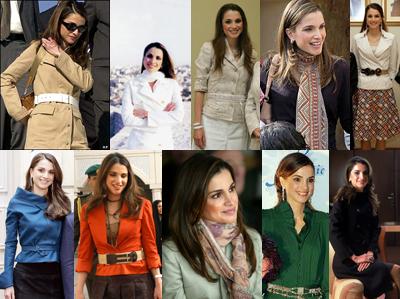 Queen Rania, a fashion icon
