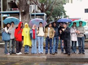 In the Rain @ Sydney