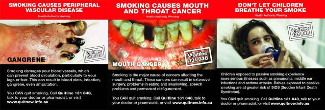 anti smoking speech