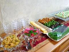 Dodol, kolang kaling... yummy foods!