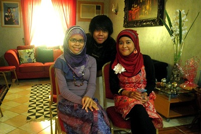 My sister, brother, and me