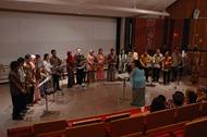 Performing Menuet in G