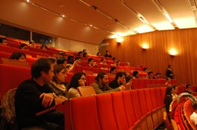 The concert was held at Eindhoven Technical University