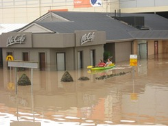 Is there a canoe-thru at the McDonald's?