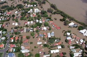 One of the Brisbane worst-affected suburbs