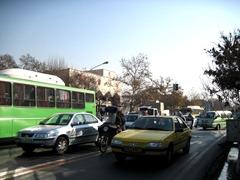 Traffic in Tehran