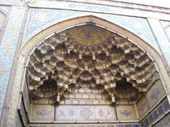 Beautiful details of the mosque