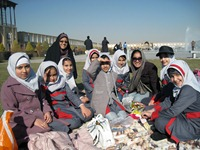 Iranian school kids