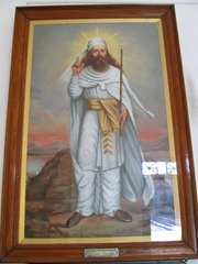 Zarathustra (Zoroaster), founder of Zoroastrianism