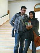 Reza and I