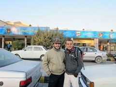 Majid and Ikmal before we bid farewell