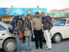 Me, Nabilah, Majid, and Ikmal before we bid farewell