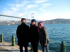 with Elena and Omer