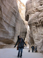 Me at the Siq