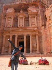 Me @ Petra's Treasury