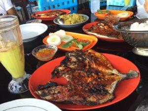Bubara fish for one person