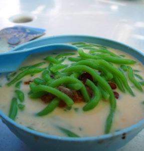 A bowl of cendol