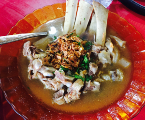 Sop Konro Bawakaraeng
