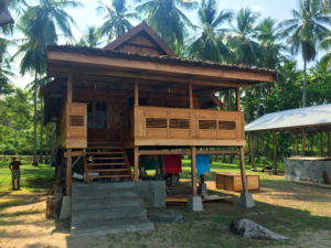 Traditional Bugis House (beach view)