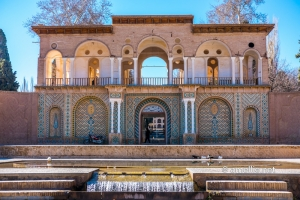 The residential palace at Shahzadeh Garden, Mahan