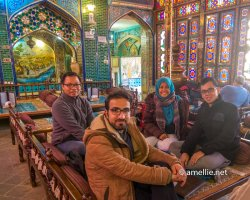 With Mohammed in Esfahan