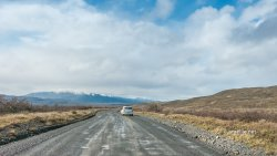 Gravel roads around Torres del Paine