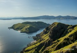 The other side of Padar Island